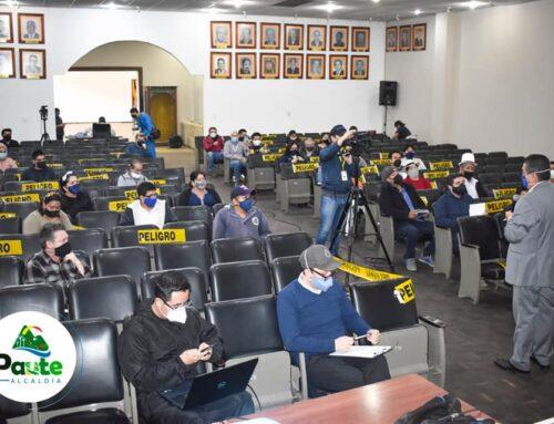 MUNICIPIO SOCIALIZA PROYECTO DE REGENERACIÓN URBANA  CON LOS  BARRIOS LUNTUR Y PIRINCAY